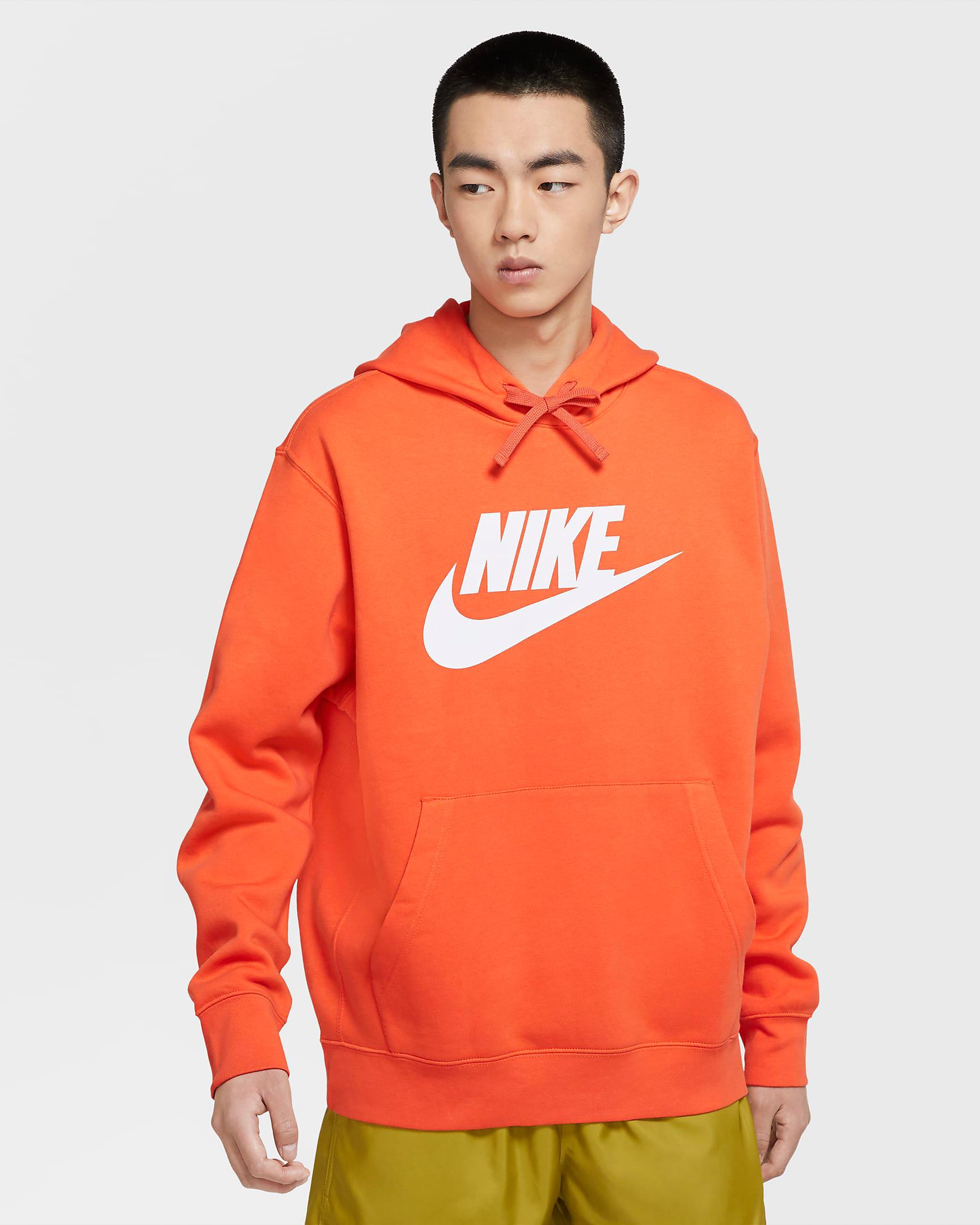 nike-club-fleece-graphic-hoodie-orange