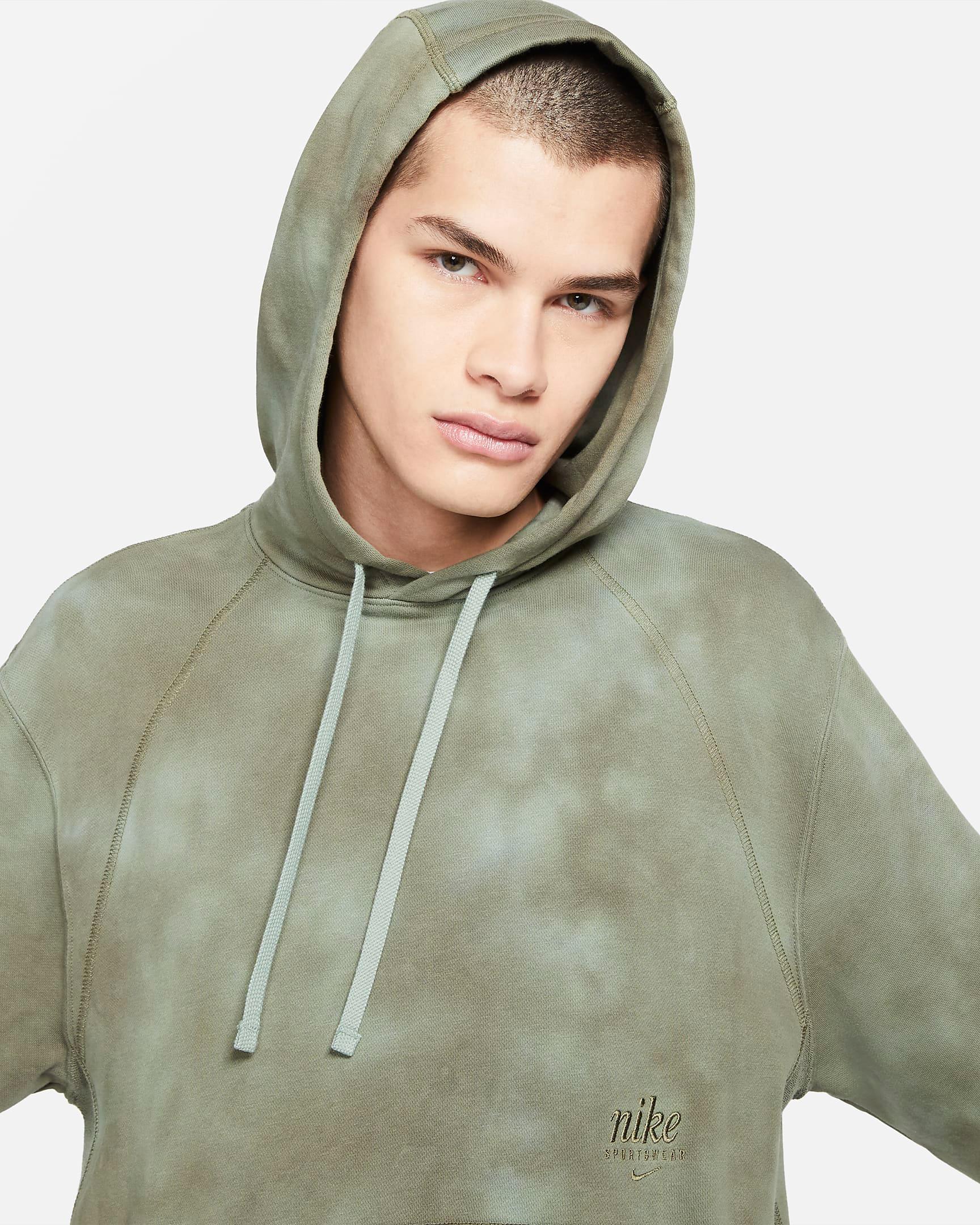 nike-club-fleece-tie-dye-hoodie-green-1