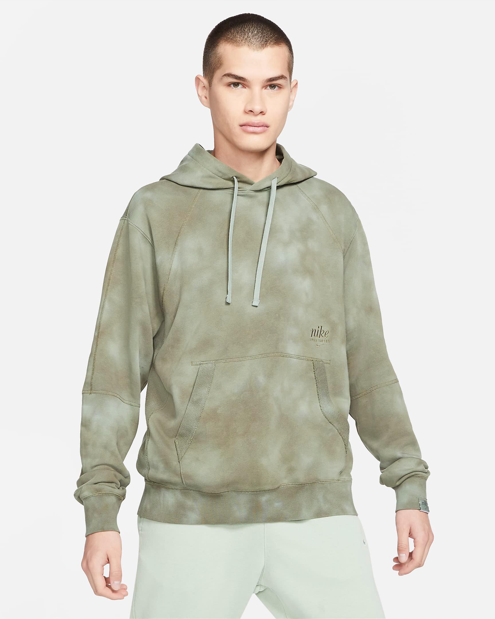 nike-club-fleece-tie-dye-hoodie-green-4
