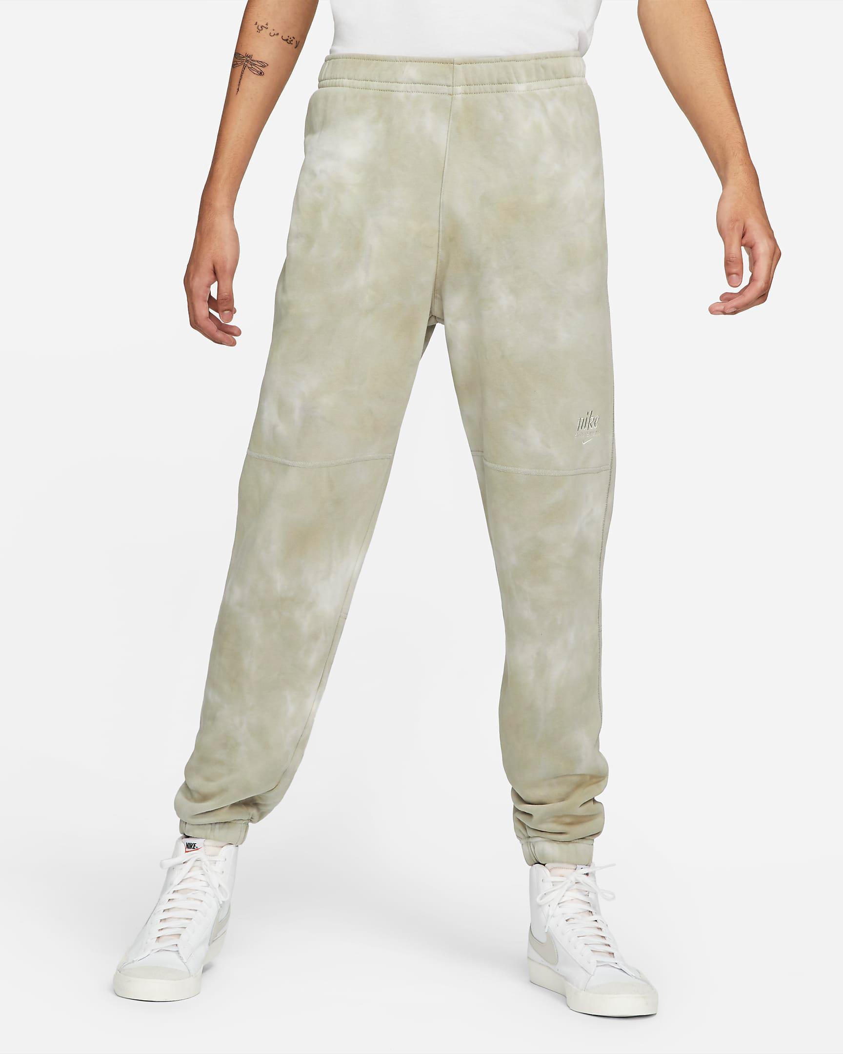 nike-club-fleece-tie-dye-jogger-pants-cream-beige