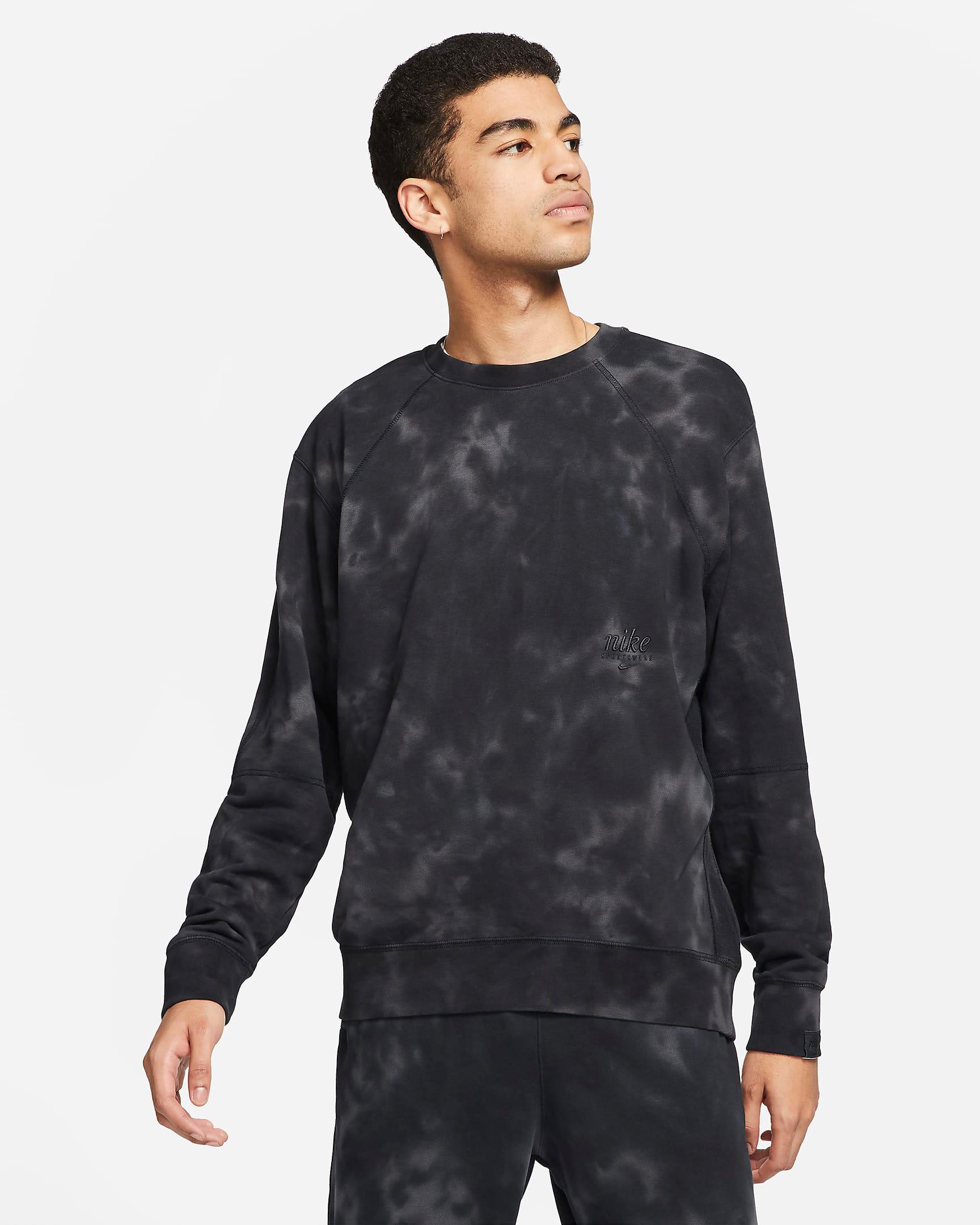 nike-club-fleece-tie-dye-sweatshirt-black