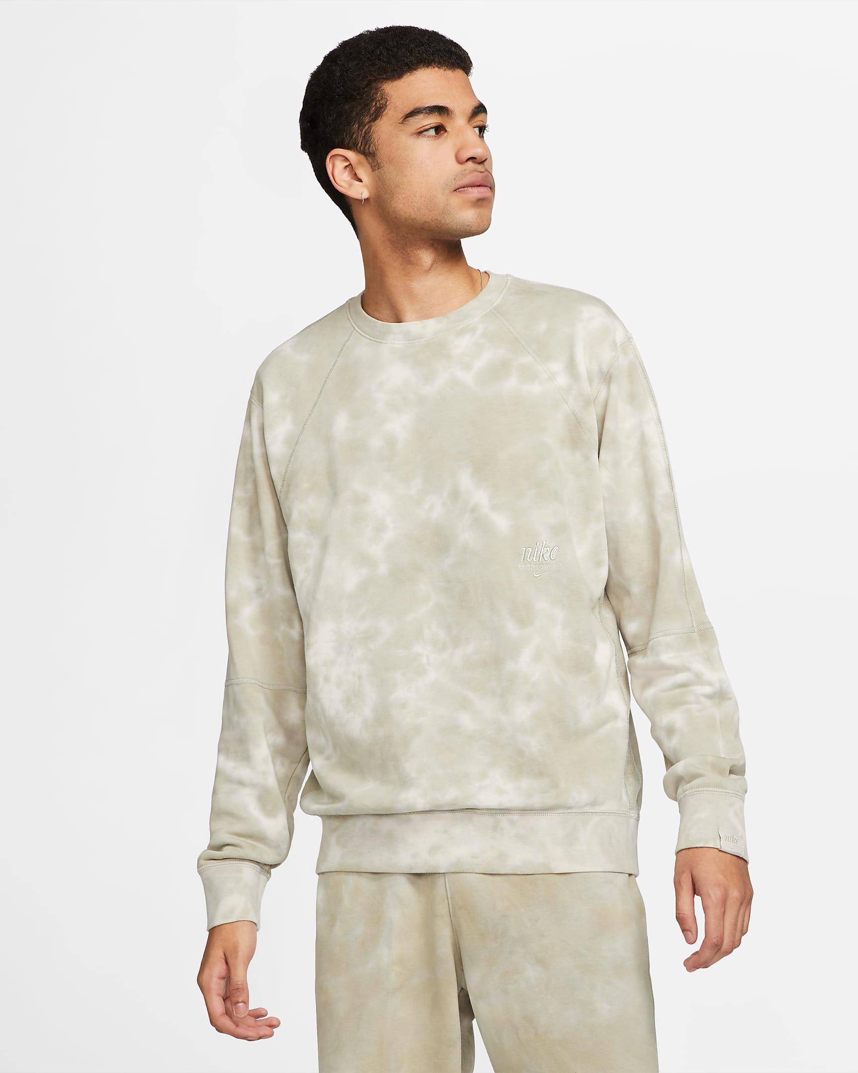 nike-club-fleece-tie-dye-sweatshirt-cream-beige