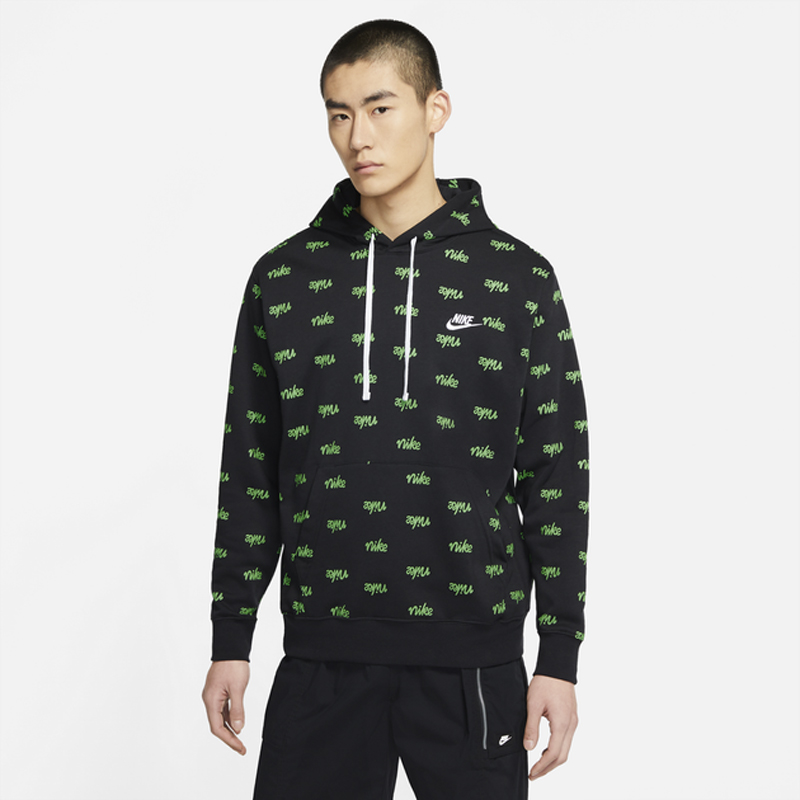 nike-club-script-hoodie-black-mean-green