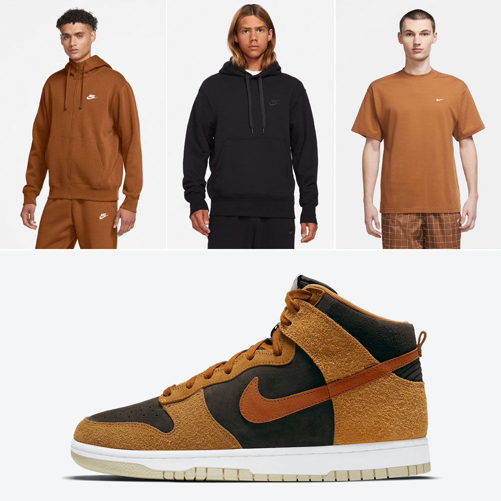 nike-dunk-high-dark-curry-clothing-outfits