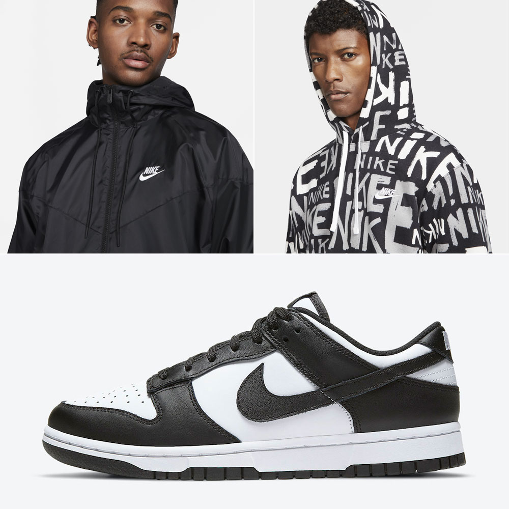 nike-dunk-low-black-white-outfits