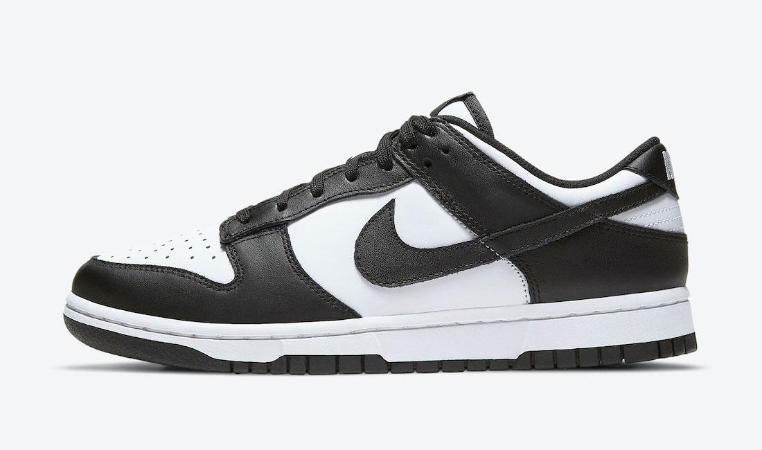 nike dunk low black white sneaker clothing match