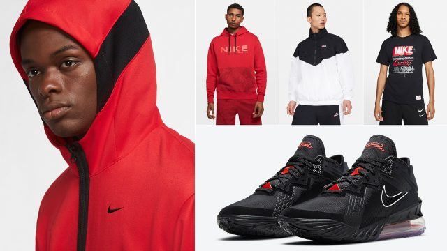 nike-lebron-18-low-bred-black-university-red-outfits