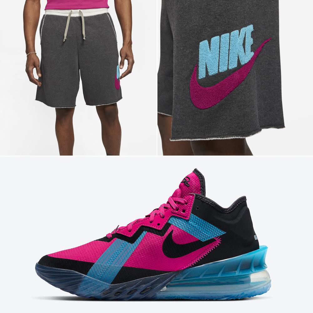 nike-lebron-18-low-fireberry-shorts
