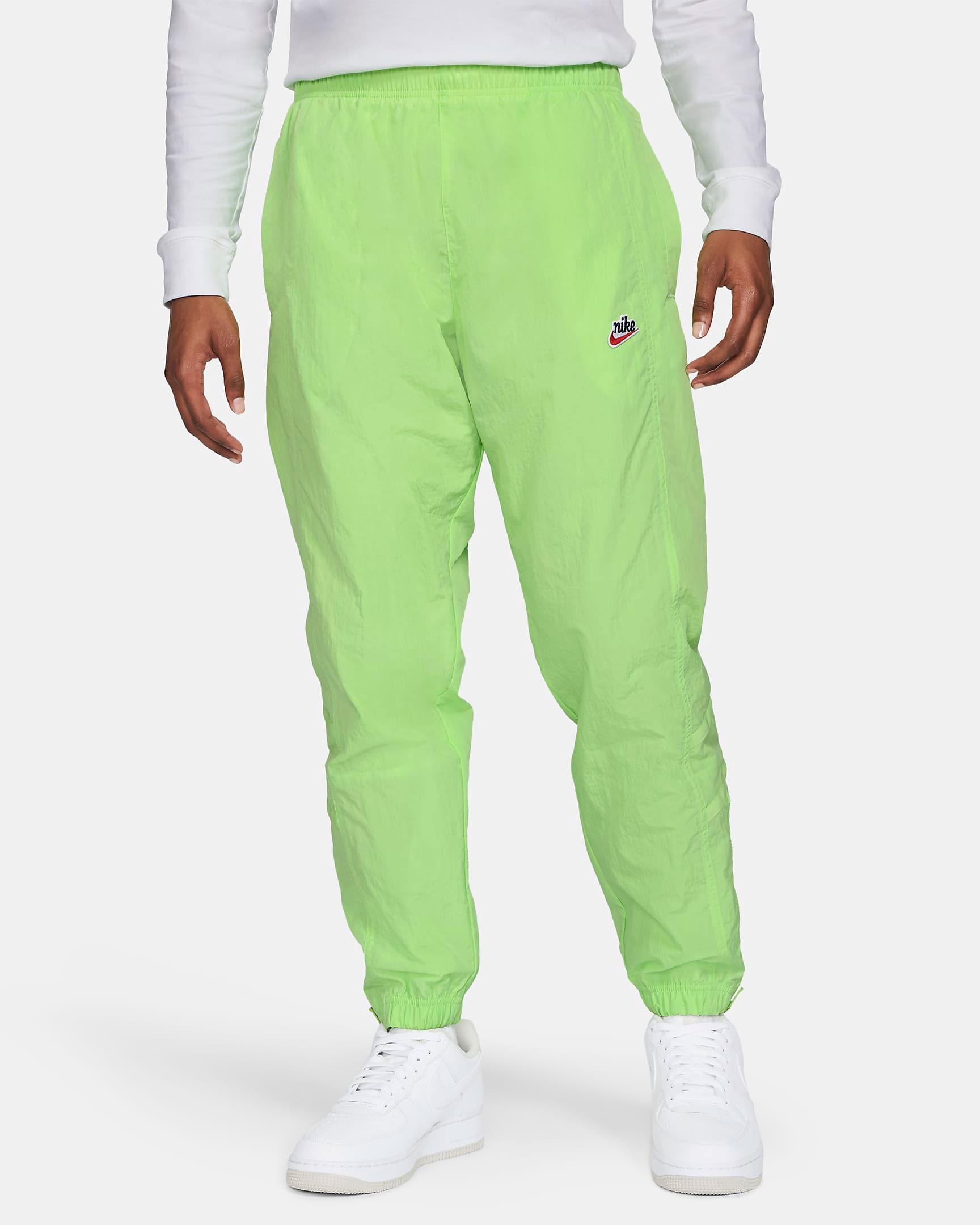 nike-lime-heritage-windrunner-pants