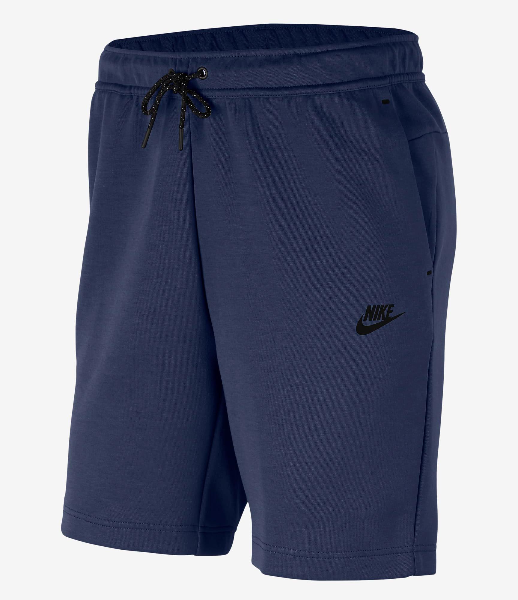 nike-midnight-navy-tech-fleece-shorts