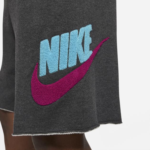 nike-sportswear-alumni-chenille-shorts-black-fireberry-blue-3