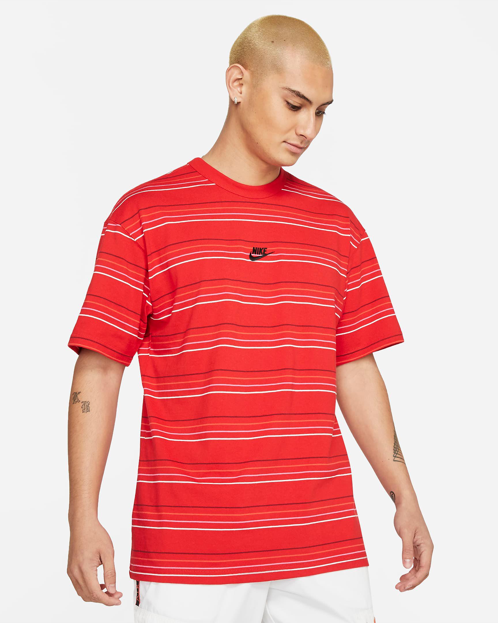 nike-sportswear-red-striped-shirt