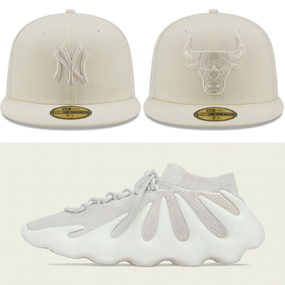 yeezy-450-cloud-white-hats-match
