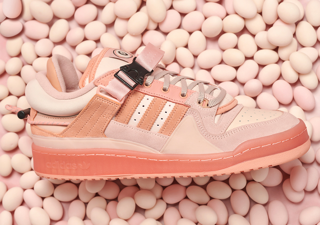 Bad-Bunny-adidas-Forum-Buckle-Low-Easter-Egg-sneaker-clothing-match