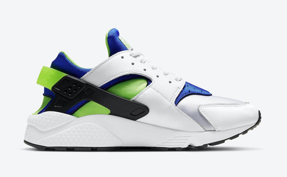 Nike-Air-Huarache-Scream-Green-DD1068-100-2021-Release-Date-2