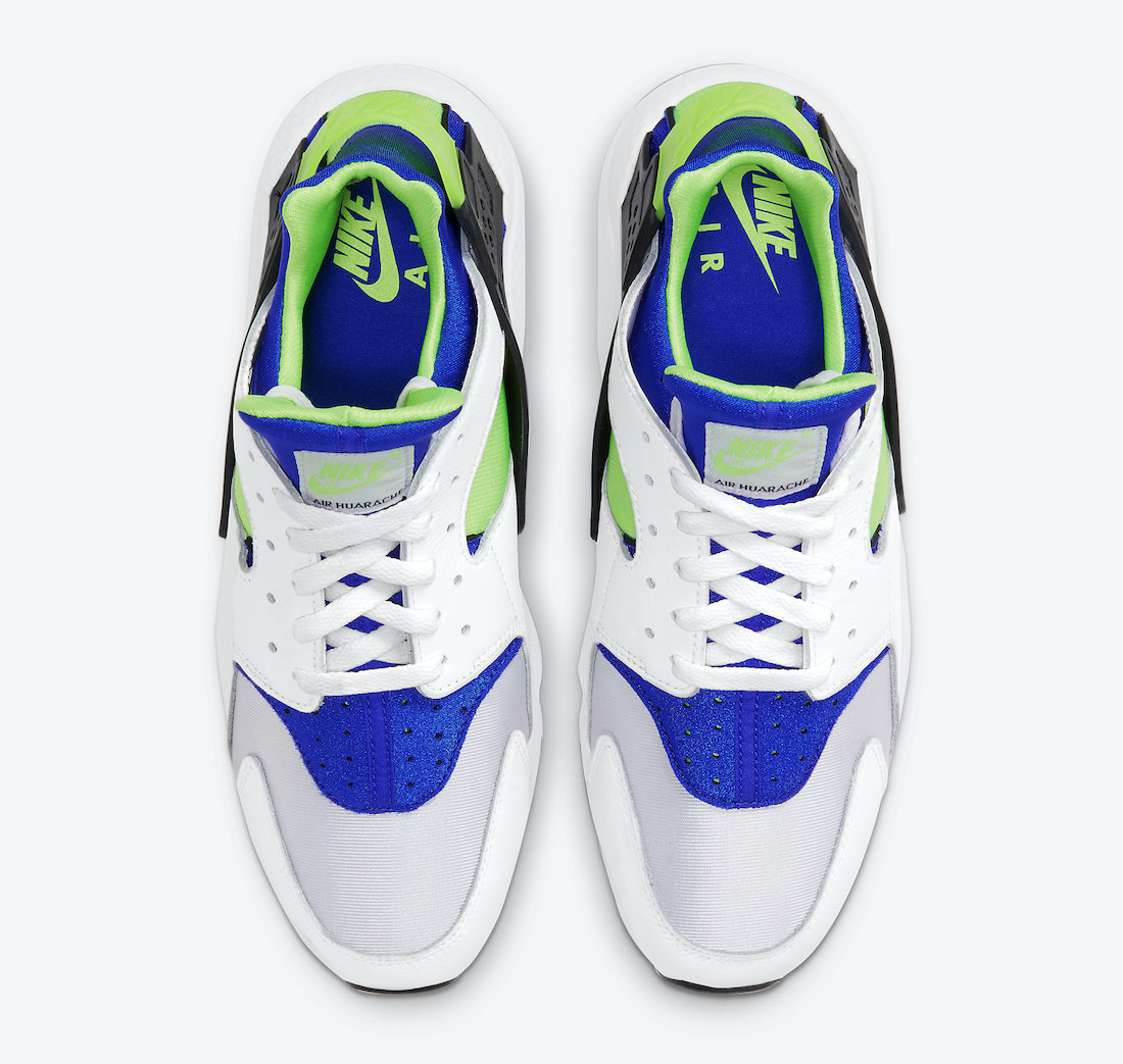 Nike-Air-Huarache-Scream-Green-DD1068-100-2021-Release-Date-3