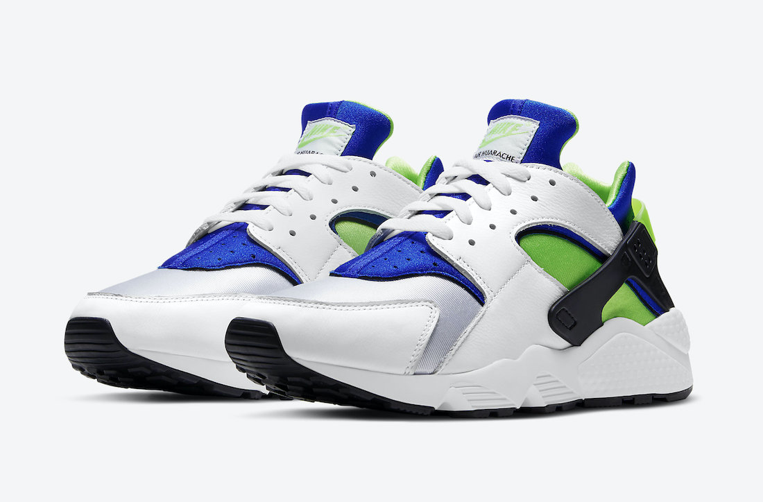 Nike-Air-Huarache-Scream-Green-DD1068-100-2021-Release-Date-4