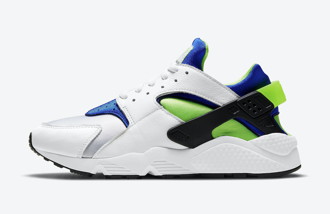 Nike-Air-Huarache-Scream-Green-DD1068-100-2021-Release-Date