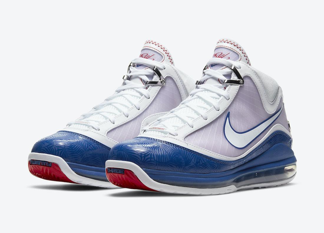 Nike-LeBron-7-Dodgers-DJ5158-100-2021-Release-Date