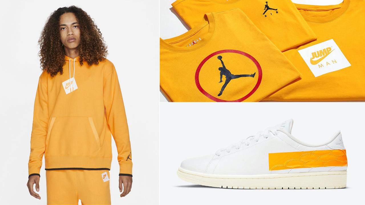 air-jordan-1-centre-court-university-gold-clothing-outfits