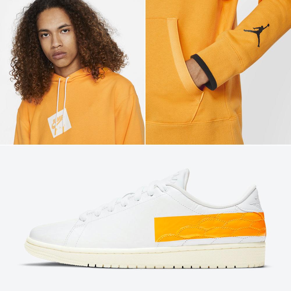 air-jordan-1-centre-court-university-gold-hoodie-pants-outfit