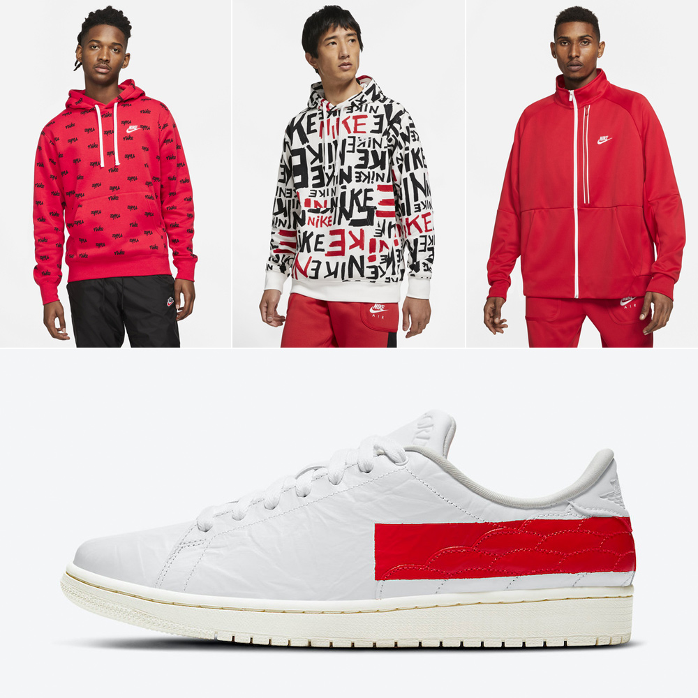 air-jordan-1-centre-court-white-university-red-clothing-outfits