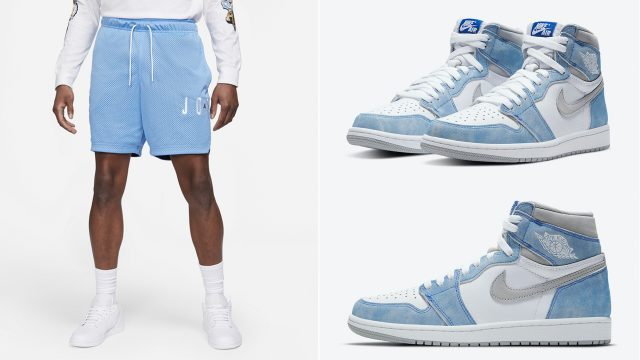 air-jordan-1-high-hyper-royal-2021-matching-shorts