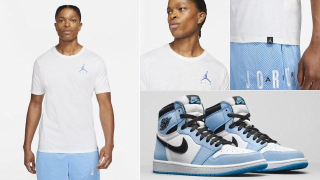 air-jordan-1-high-university-blue-matching-shirt