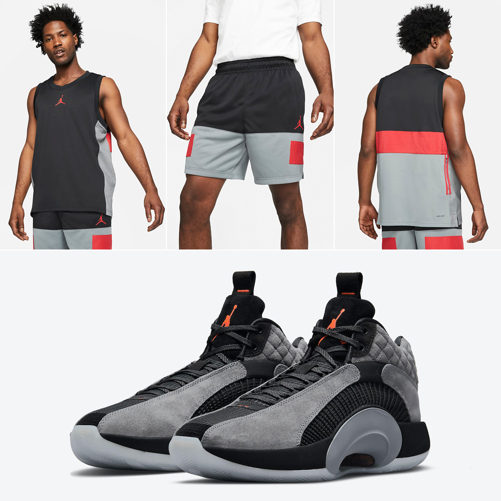 air-jordan-35-smoke-grey-jersey-shorts-outfit