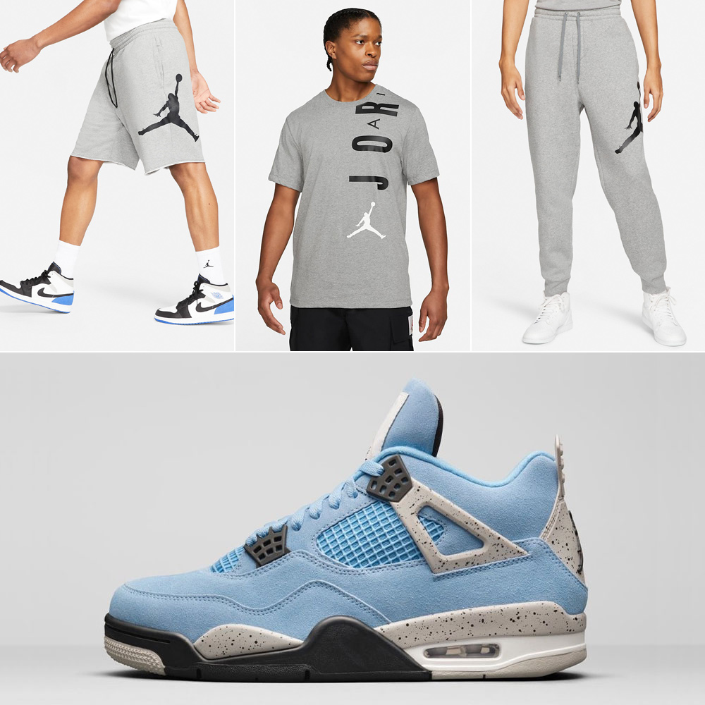 air-jordan-4-unc-university-blue-grey-clothing-match