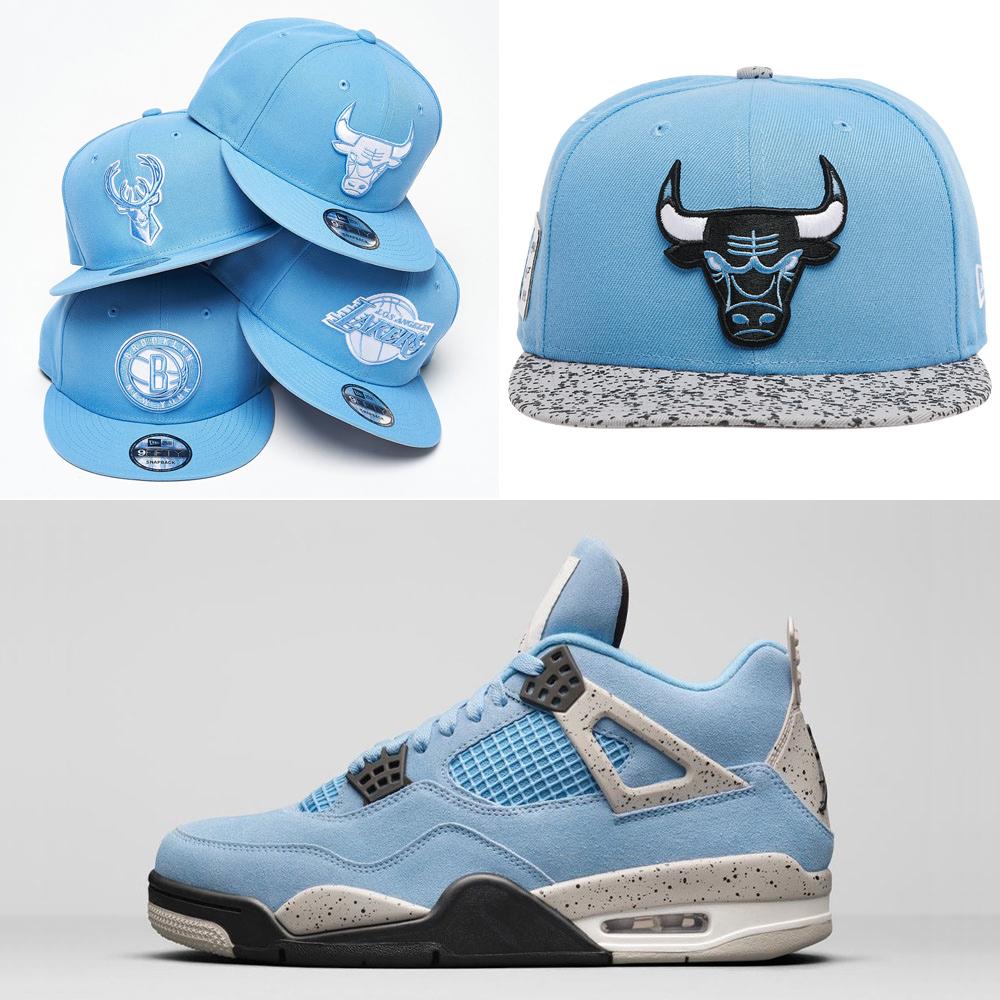 air-jordan-4-unc-university-blue-hats