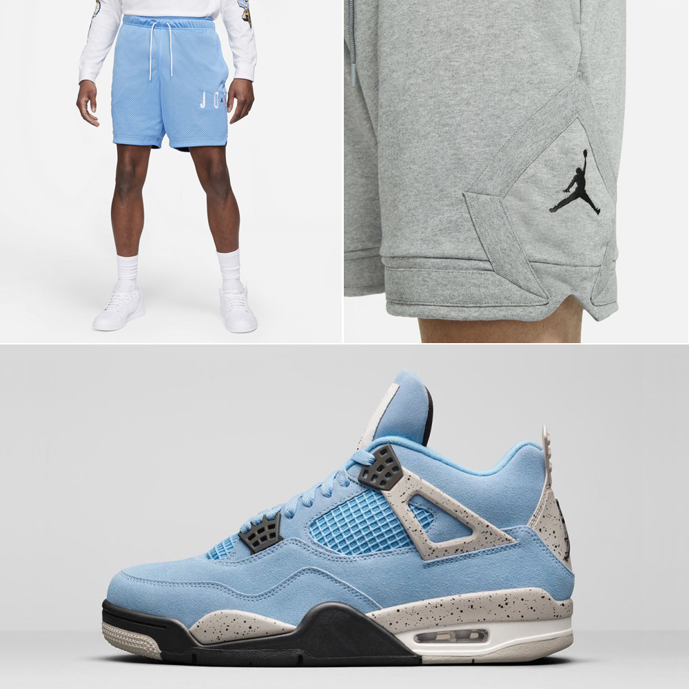 air-jordan-4-unc-university-blue-shorts
