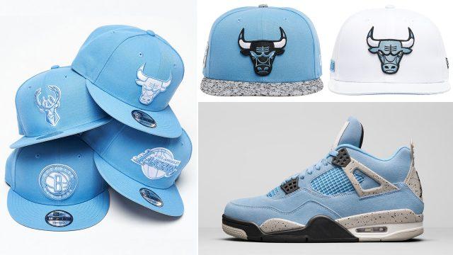 air-jordan-4-university-blue-hats