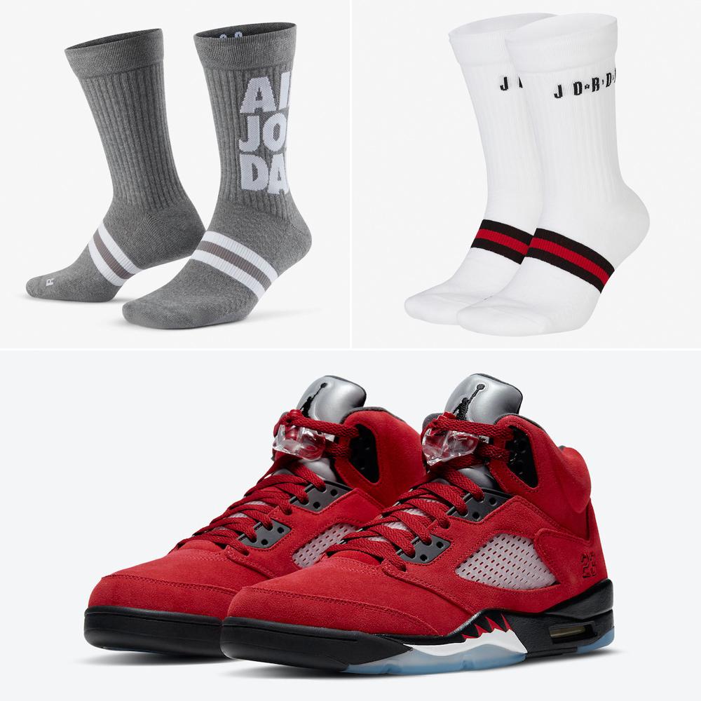 air-jordan-5-raging-bull-socks