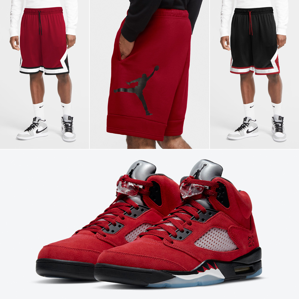 air-jordan-5-raging-bull-toro-2021-shorts-3