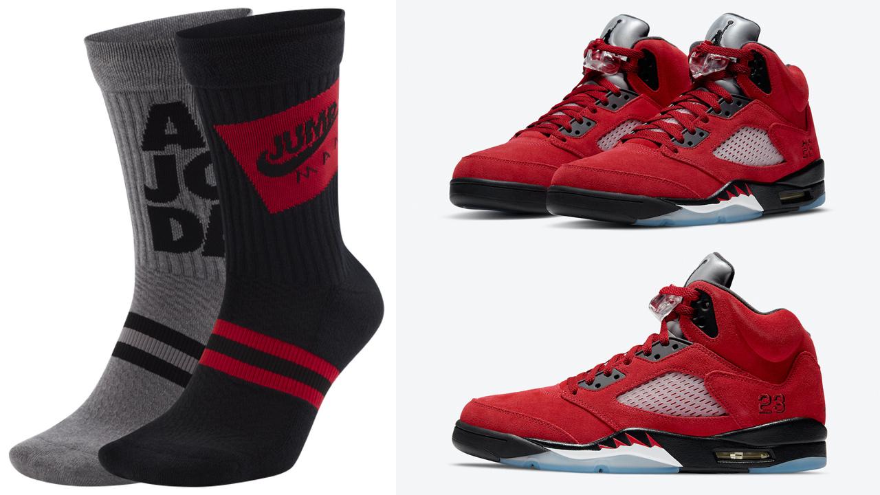 air-jordan-5-raging-bull-toro-2021-socks