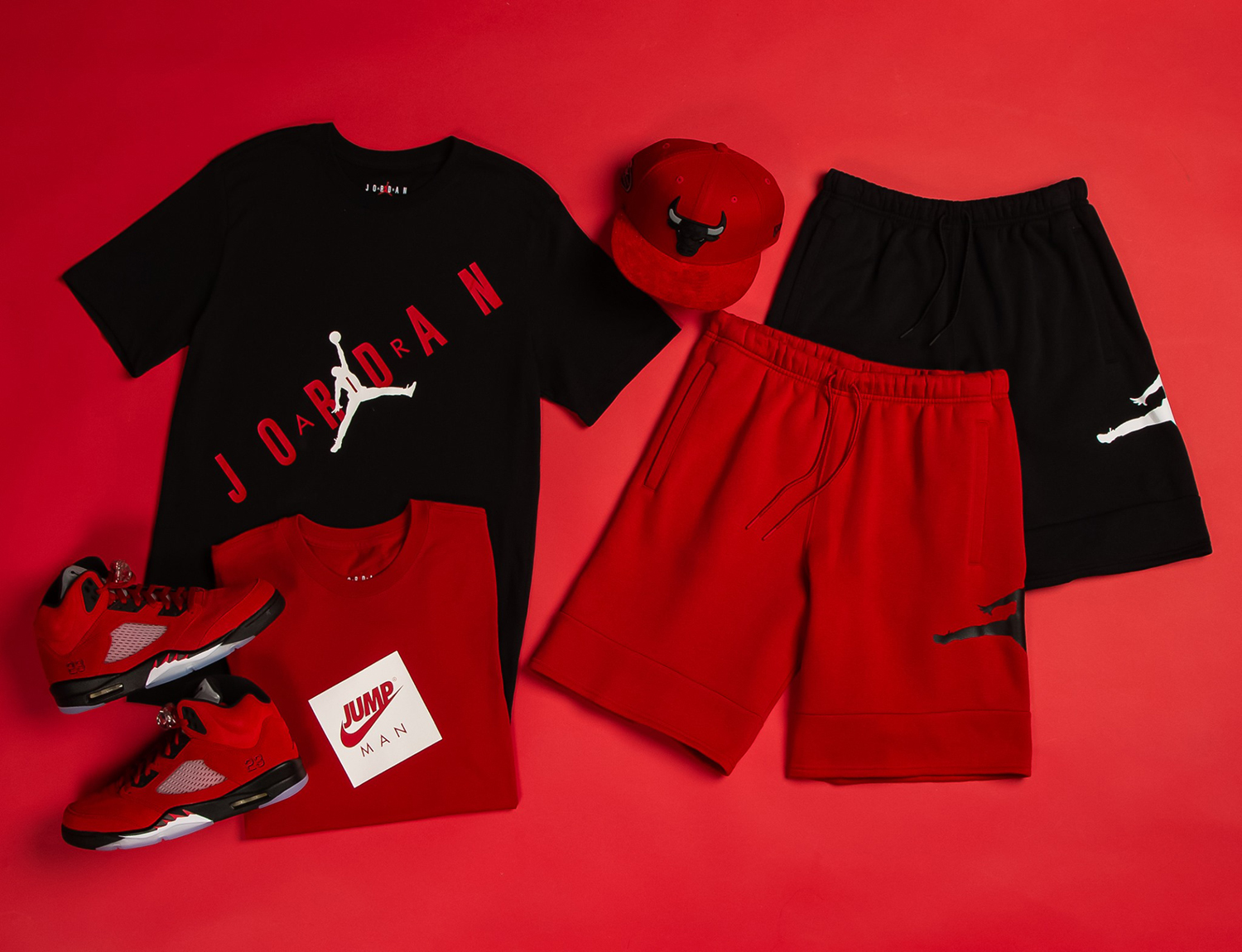 air-jordan-5-raging-bull-toro-outfit-shirts-hat