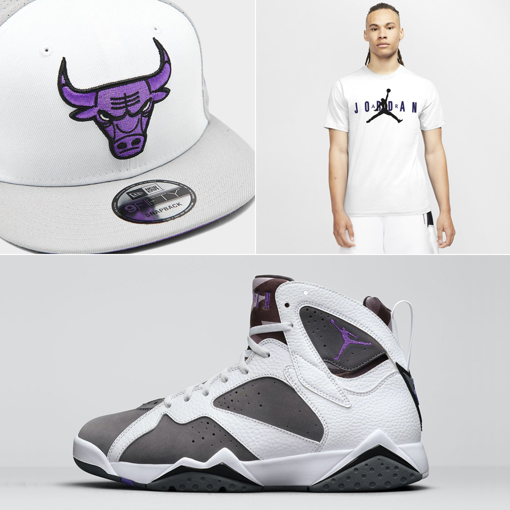 air-jordan-7-flint-2021-shirt-hat-outfit