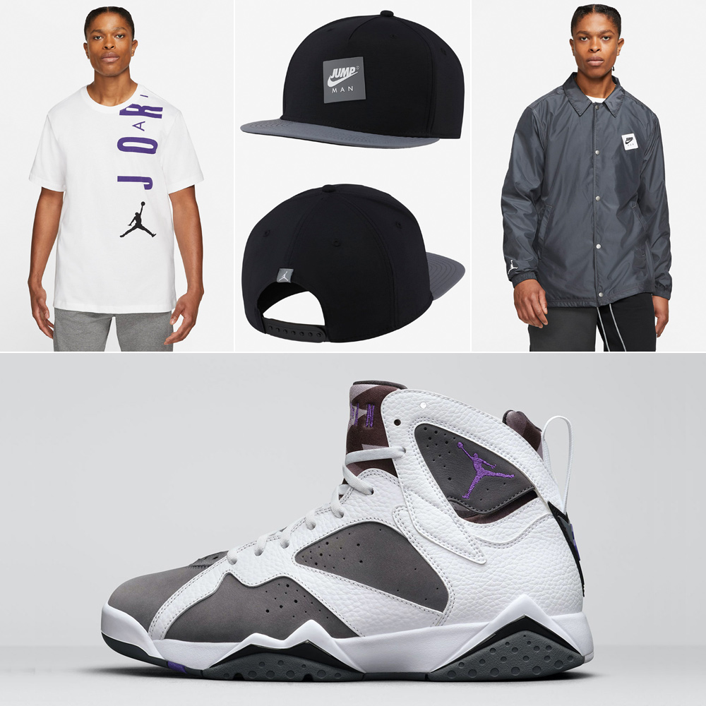 air-jordan-7-flint-shirt-jacket-hat-outfit