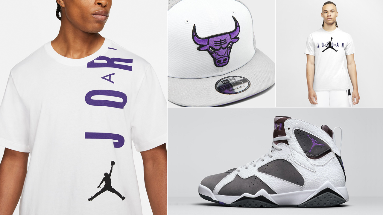 air-jordan-7-flint-shirts-hats-clothing-match