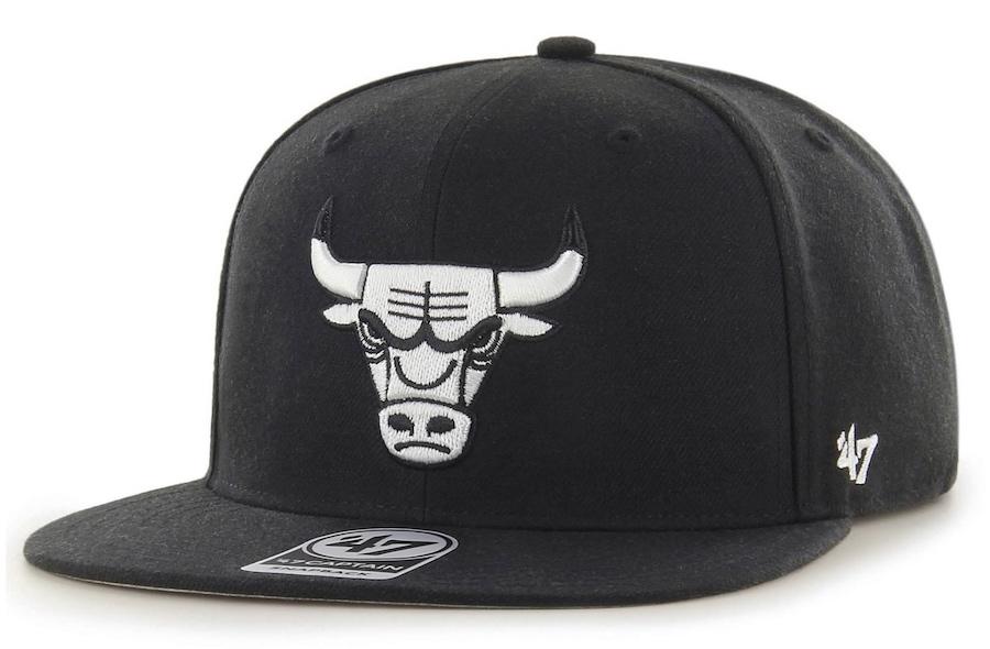 chicago-bulls-47-black-white-snapback-hat