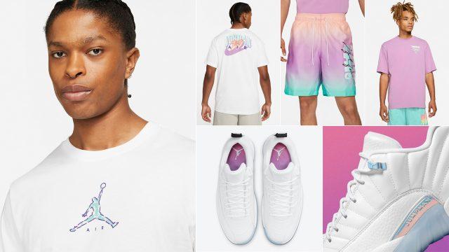 jordan-12-low-easter-matching-apparel