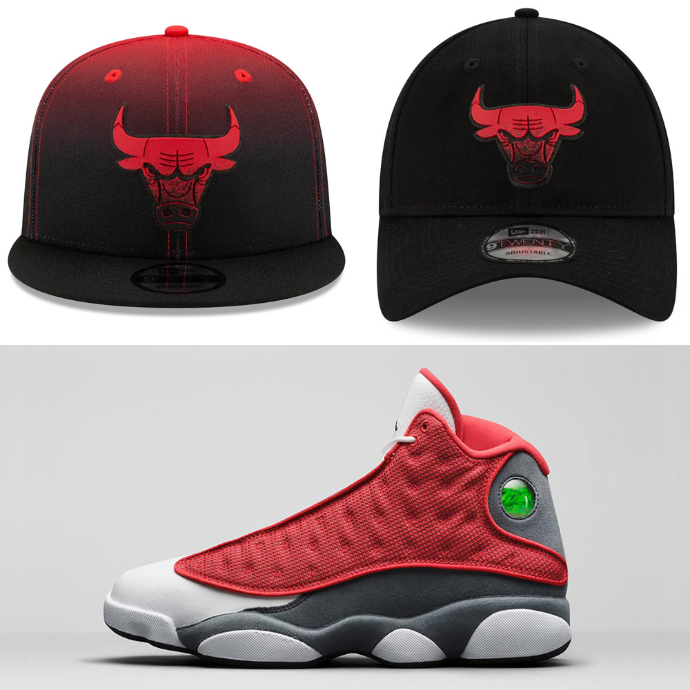 jordan-13-red-flint-hats