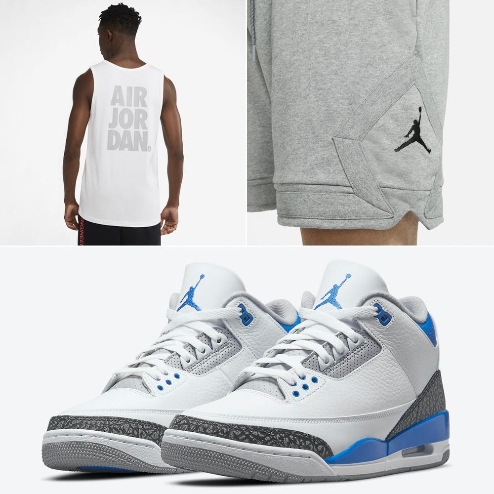 jordan-3-racer-blue-tank-top-shorts-outfit