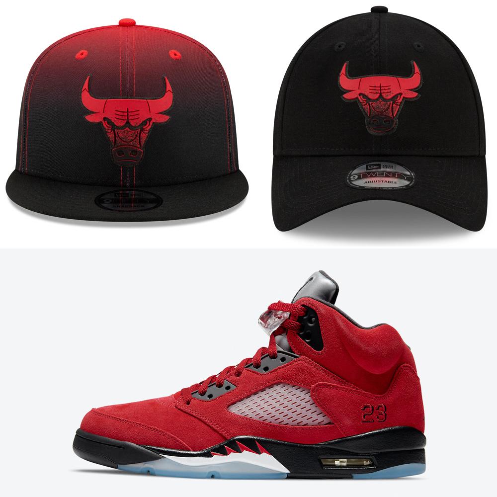 jordan-5-raging-bull-toro-bravo-2021-hats