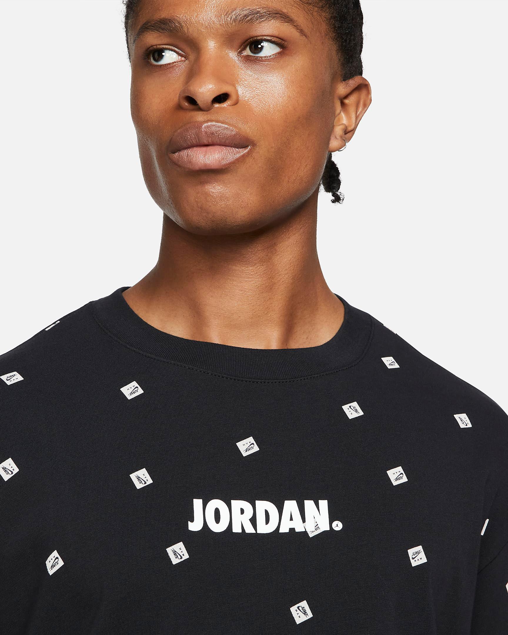 jordan-jumpman-classic-allover-print-shirt-black-white-2