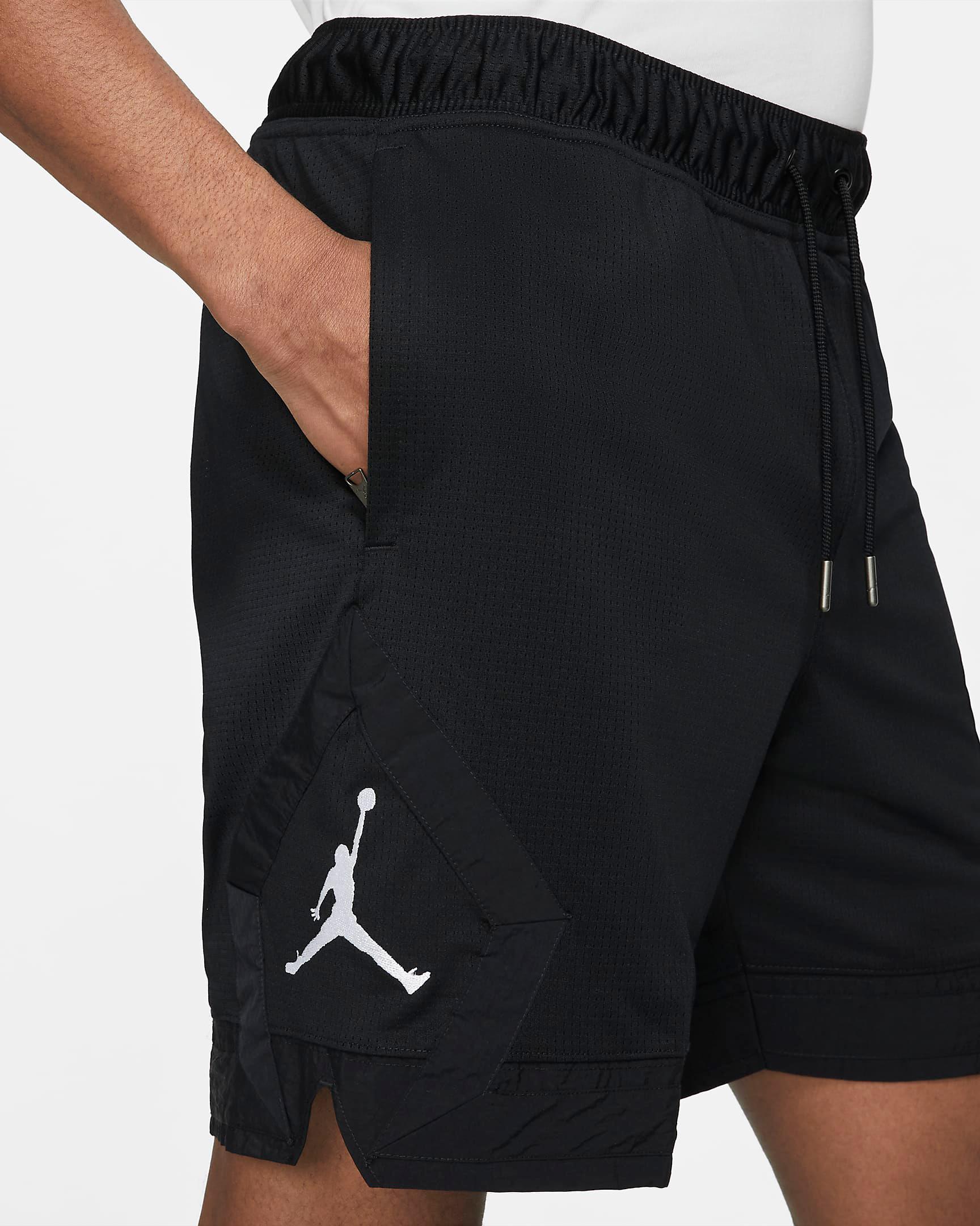 jordan-jumpman-diamond-black-white-shorts-2