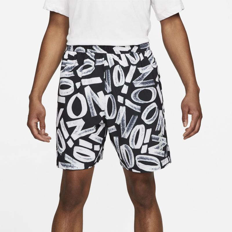 jordan-zion-black-white-shorts-1