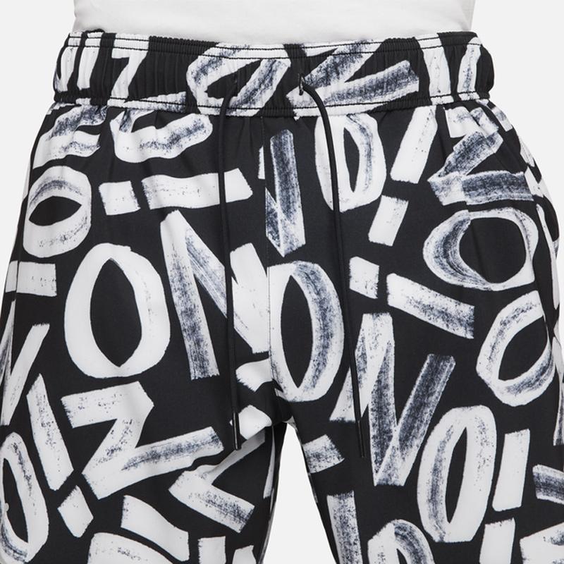 jordan-zion-black-white-shorts-3