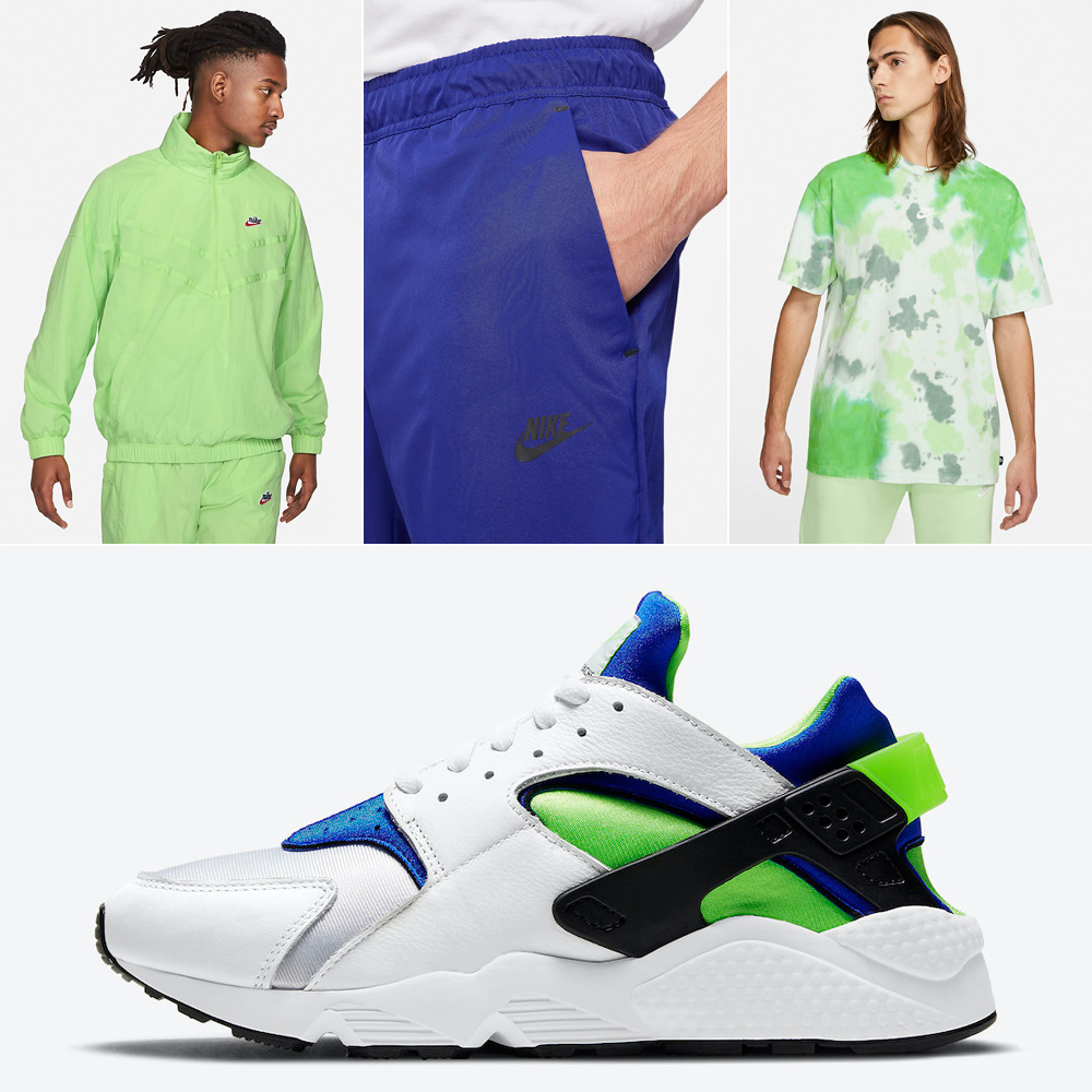 nike-air-huarache-scream-green-outfits